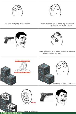 minecraft rage