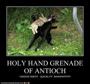 HOLY HAND GRENADE OF ANTIOCH