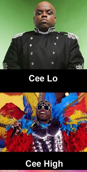 The Different Cee Lo Greens