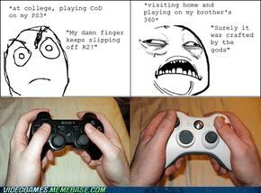 The PS3 Controller Feels So Light