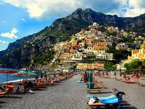 Beach View, Positano, Italy