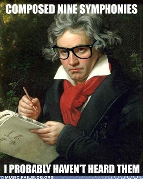 Anti-Hipster Beethoven