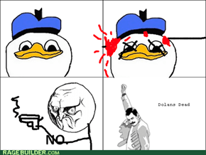 Dolan Bleds but Dos Not Di