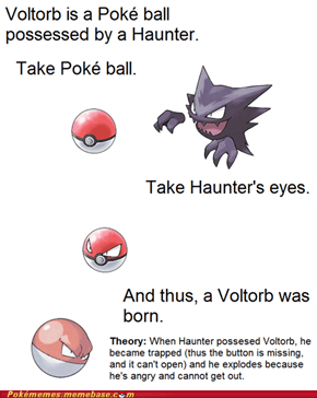 Why Voltorb Trolls