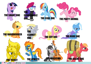 Facebook Tag Sheet... With PONIES!