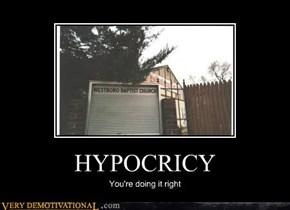 HYPOCRICY