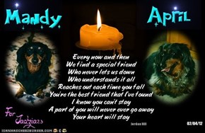 A Monday Night Candle For Our Departed Friends, And For Those Who Need Our Prayers