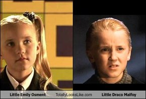 Little Emily Osment  Totally Looks Like Little Draco Malfoy