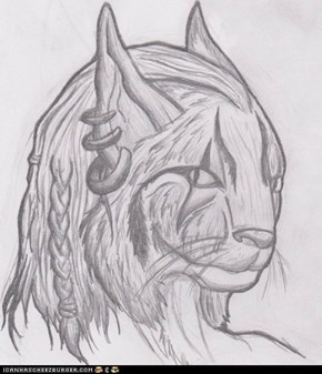 Khay-narjo (Another non-brony friend's khajiit)