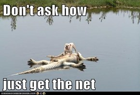 Don't ask how  just get the net
