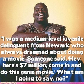 "Why Shaq Made ""Kazaam"""