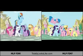 MLP FIM! Totally Looks Like MLP FIM?