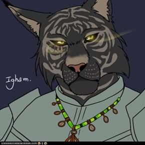 Igham (my non-brony friend's Khajiit)