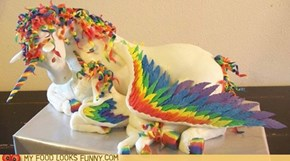 Epic Pegacorn Cake