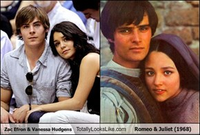 Zac Efron & Vanessa Hudgens Totally Looks Like Romeo & Juliet (1968)