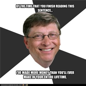 Bill Gates is trollin'