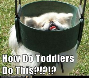 How Do Toddlers Do This?!?!?