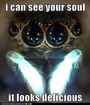 i can see your soul  it looks delicious