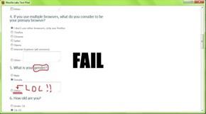 Firefox hilarious FAIL