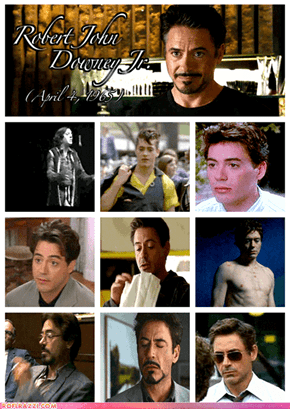 Happy Birthday Robert Downey, Jr.!