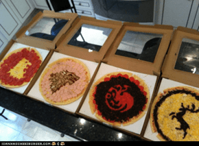 Game of Thrones- Pizza House Sigils