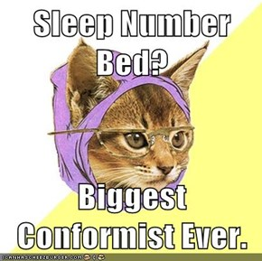 Sleep Number Bed?  Biggest Conformist Ever.