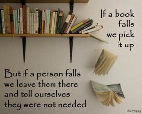 If A Book Falls