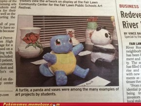 Teenage Mutant Art Project Squirtle