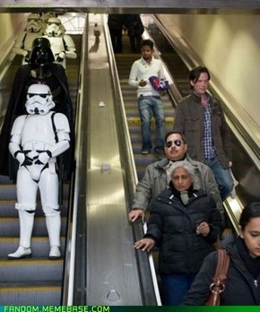 The Escalator Strikes Back