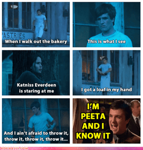 I'm Peeta And I Know it!