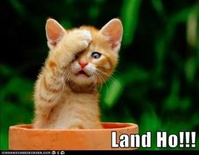 Land Ho!!!