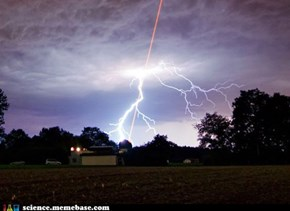 Scientists Control Where Lightning Strikes