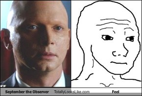 September the Observer Totally Looks Like Feel