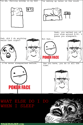 Sleepwalking Rage