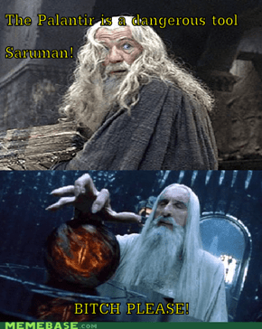 Wise man Saruman