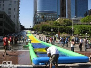 WIN!: Slip 'n Slide WIN