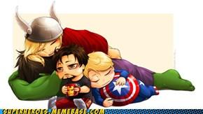 Avengers... SLEEP!