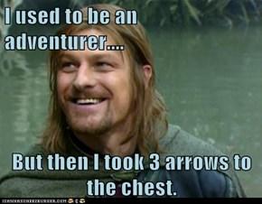 A true adventurer