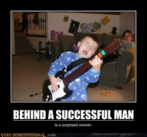 BEHIND A SUCCESSFUL MAN