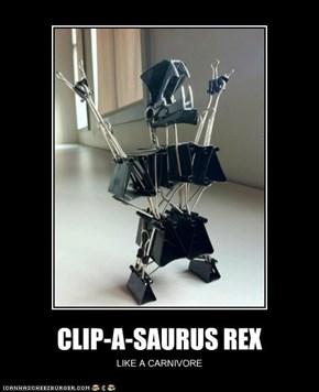 CLIP-A-SAURUS REX