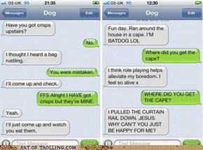 Batdog to the Rescue!