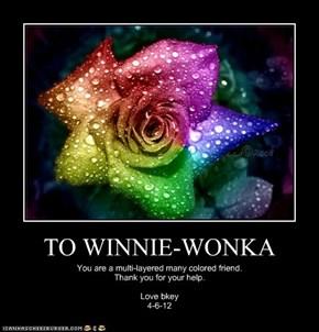 TO WINNIE-WONKA