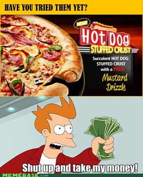 Must. Have. Hotdog. Pizza!