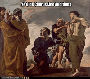 Ye Olde Chorus Line Auditions