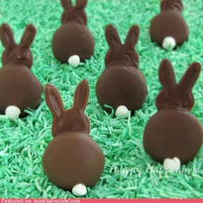 Epicute: Chocolate Bunny Silhouettes