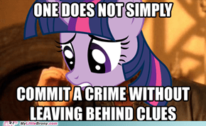 One Does Not Simply Investigate With Pinkie Pie