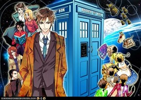 Epic Anime Doctor Who!!!!