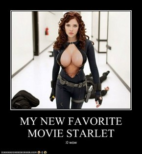MY NEW FAVORITE MOVIE STARLET