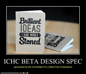 ICHC BETA DESIGN SPEC