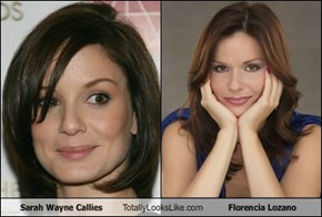 Sarah Wayne Callies Totally Looks Like Florencia Lozano